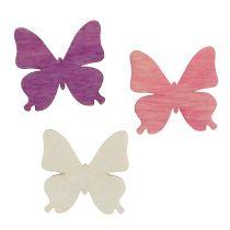 Butterflies for spreading Mix 2cm 144pcs