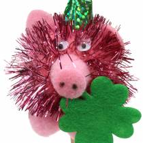 Hanging decorations lucky pig 8pcs