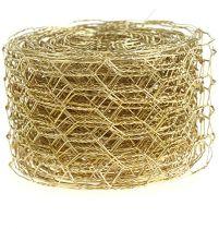 Hexagonal braid 50mm 5m Gold