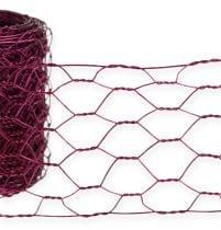 Hexagonal mesh Pink 50mm 5m