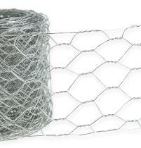 Hexagonal braid 50mm 5m silver