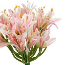 Silk flower Agapanthus Rosa 80cm