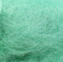 Sisal decoration grass light green 250g