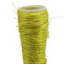 Sisal bag light green Ø1,5cm L15cm 20pcs