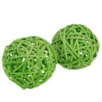 Chipboard light green Ø8cm 4pcs