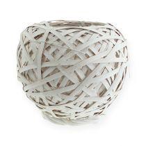 Spanking basket round white 20cm