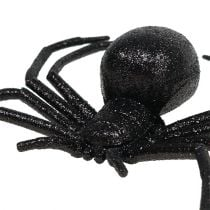 Spider Black 16cm with mica