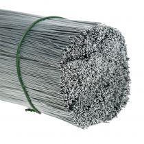 Plug wire, silver wire galvanized Ø0.4mm L180mm 1kg