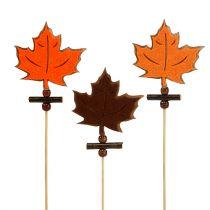Plug maple leaf sort. 8cm L35cm 12pcs