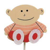 Plug Baby 5cm L25cm Pink 20pcs