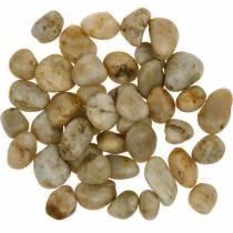 River pebbles natural cream 2-4cm 1kg