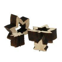 wooden leaves 1cm - 2cm nature 192pcs
