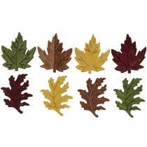 Litter decoration maple leaves 4cm 72pcs