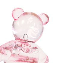 Decoration to control bear pink 3,5cm 60pcs