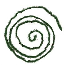 Fir garland with cones 3,6m