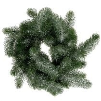 Fir Wreath Ø40cm iced
