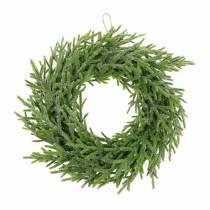 Fir wreath Ø24cm green