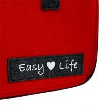 Easy Life Bag 39cm x 22cm x 25.5cm Red-Gray