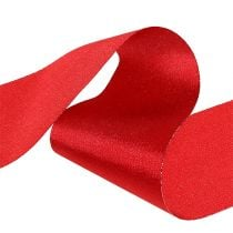Table Ribbon Red 10cm 15m
