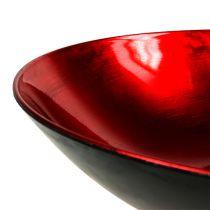 Table top bowl red Ø28cm plastic