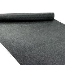Table top table runner black 50cm 3m