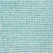 Table runner with sequins turquoise B25cm L228cm