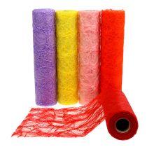 Table runner fleece colored 30cm 10m