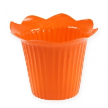 Plastic pot blossom Ø12cm 25pcs