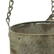 Plant pot to hang antique Ø10 / 14cm 2pcs