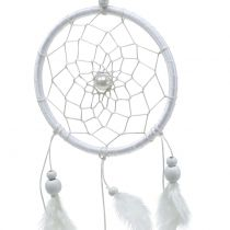 Dream catcher with feathers White 50cm 2pcs