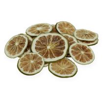 Lime slices green 500g lime slices