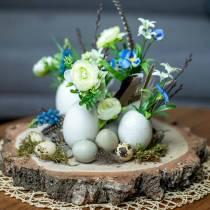 Turkey eggs natural 6.5cm 12pcs