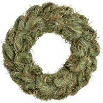 Door wreath, hay wreath nature Ø30cm 1p
