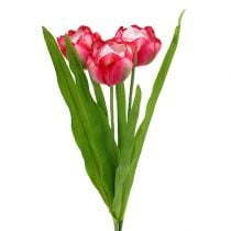 Tulip artificial Pink 60cm 3pcs