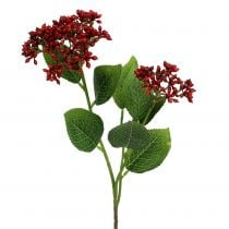 Berry branch red viburnum berries 54cm 4pcs