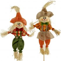 Scarecrow on the stick 42cm 4pcs
