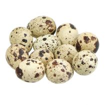 Quail eggs natural 3-3.5cm 12pcs