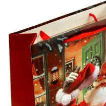 Gift bag with Santa Claus 24cm x 18cm x 8cm