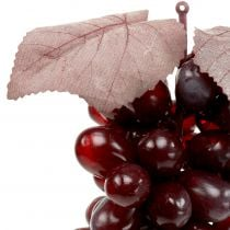 Artificial grapes Burgundy 25cm