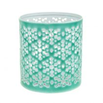 Lantern 3-Set Mint Green Ø7cm - Ø12,5cm