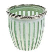 Windlight Antique Green Ø8,5cm H9cm