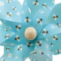 Pinwheel bees turquoise Ø16 summer decoration wind chimes windmill 4pcs