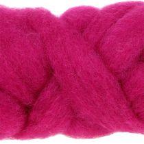 Wool rug 10m pink