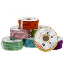 Woolen cord colored 3mm 100m