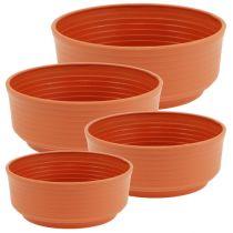 Plant pot Plastic  Ø16cm-22cm 10pcs