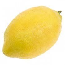 Artificial fruit, lemon, decorative fruits L8.5cm Ø5cm 4pcs