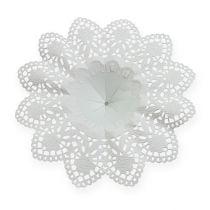 Paper lace flower bouquet holders 25 pcs