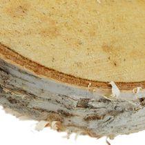 Birch slices round natural 10pcs