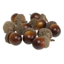 Decorative acorns 3cm 36pcs