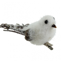 Snow bird 14cm with clip
